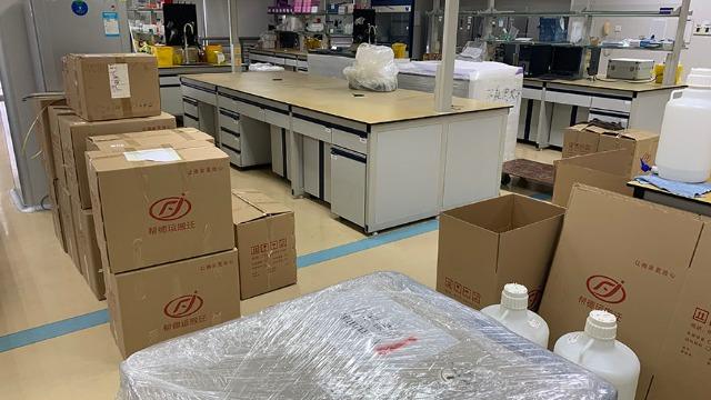 庆阳市实验室搬家-改善老旧破的实验环境