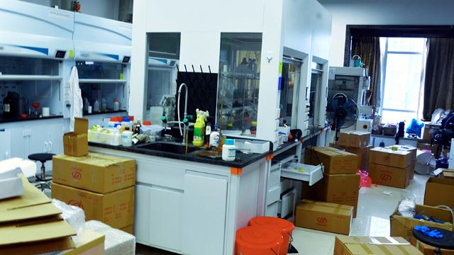 咸宁市实验室搬家积极配合企业建设