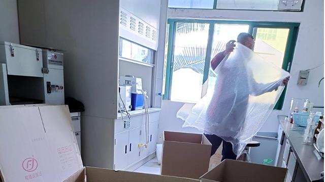 景洪市实验室设备搬迁参与咖啡产业发展